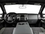 2015 Ford F350 Super Duty Crew Cab Dashboard, center console, gear shifter view