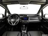 2015 Honda Fit Dashboard, center console, gear shifter view