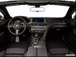 2015 BMW 6 Series Dashboard, center console, gear shifter view photo