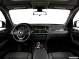2015 BMW X3 Dashboard, center console, gear shifter view