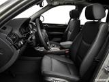 2015 BMW X3 Front seats from Drivers Side