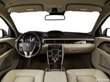 2015 Volvo S80 Dashboard, center console, gear shifter view