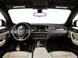 2015 BMW X4 Dashboard, center console, gear shifter view photo