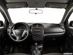 2015 Nissan Versa Dashboard, center console, gear shifter view photo