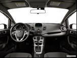 2015 Ford Fiesta Dashboard, center console, gear shifter view photo