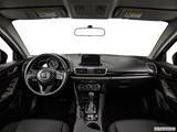 2015 Mazda MAZDA3 Dashboard, center console, gear shifter view