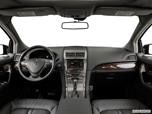 2015 Lincoln MKX Dashboard, center console, gear shifter view photo