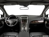 2015 Lincoln MKX Dashboard, center console, gear shifter view