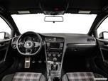 2015 Volkswagen Golf GTI Dashboard, center console, gear shifter view photo