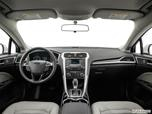 2015 Ford Fusion Dashboard, center console, gear shifter view photo