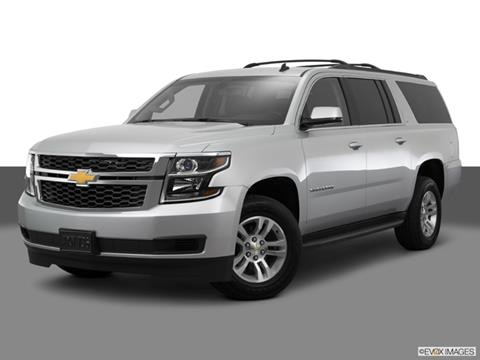 2015 Chevrolet Suburban 4-door LS  Sport Utility Front angle medium view photo