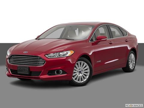 2015 Ford Fusion 4-door SE Hybrid  Sedan Front angle medium view photo