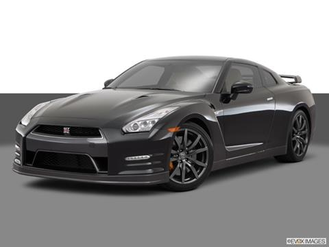 2015 Nissan GT-R 2-door Premium  Coupe Front angle medium view photo
