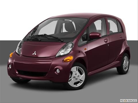 2014 Mitsubishi i-MiEV 4-door ES  Hatchback Front angle medium view photo