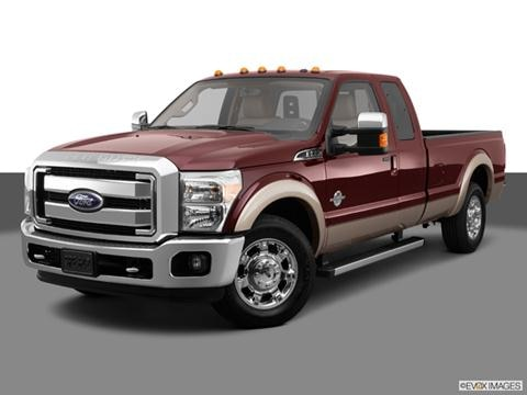 2014 Ford F350 Super Duty Super Cab 4-door XLT  Pickup Front angle medium view photo