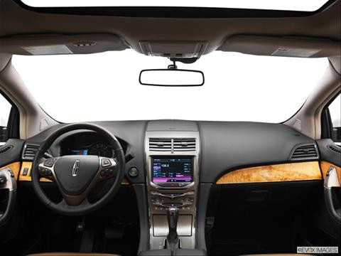 2013 Lincoln MKX 4-door   Sport Utility Dashboard, center console, gear shifter view photo