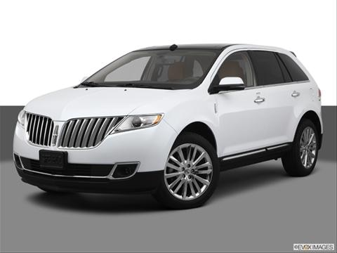 2013 Lincoln MKX 4-door   Sport Utility Front angle medium view photo