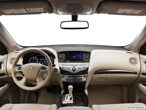 2013 Infiniti JX 4-door JX35  Sport Utility Dashboard, center console, gear shifter view photo