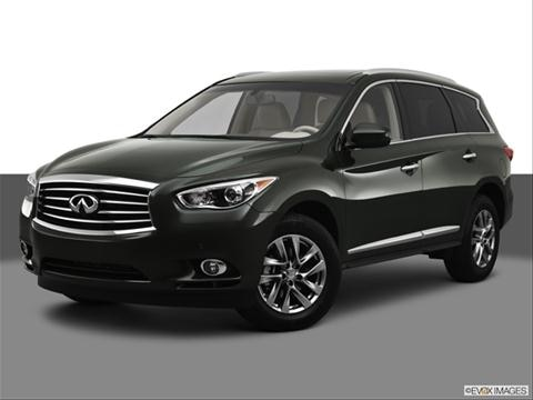 2013 Infiniti JX 4-door JX35  Sport Utility Front angle medium view photo