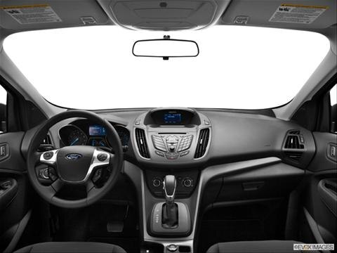 2013 Ford Escape 4-door S  Sport Utility Dashboard, center console, gear shifter view photo