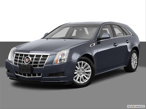 2014 Cadillac CTS 4-door 3.0 Luxury Collection  Sport Wagon Front angle medium view photo