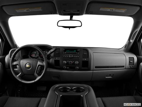 2013 Chevrolet Silverado 1500 Extended Cab 4-door Work Truck  Pickup Dashboard, center console, gear shifter view photo