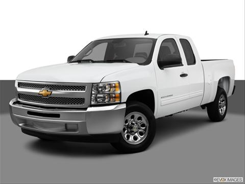 2013 Chevrolet Silverado 1500 Extended Cab 4-door Work Truck  Pickup Front angle medium view photo