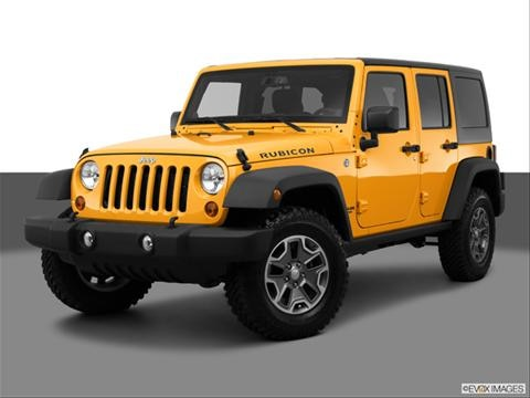 2013 Jeep Wrangler 4-door Unlimited Sahara  Sport Utility Front angle medium view photo