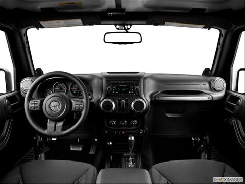 2013 Jeep Wrangler 2-door Sport  Sport Utility Dashboard, center console, gear shifter view photo