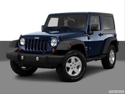 2013 Jeep Wrangler 2-door Sport  Sport Utility Front angle medium view photo