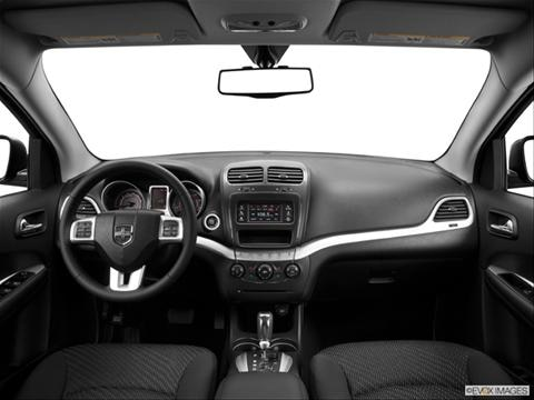 2014 Dodge Journey 4-door AVP  Sport Utility Dashboard, center console, gear shifter view photo