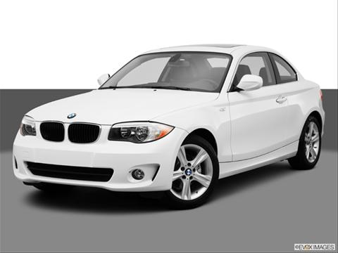 2013 BMW 1 Series 2-door 128i  Coupe Front angle medium view photo