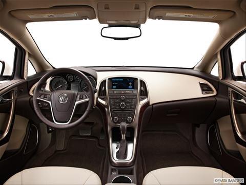 2013 Buick Verano 4-door   Sedan Dashboard, center console, gear shifter view photo