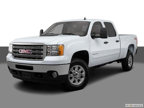 2014 GMC Sierra 3500 HD Crew Cab 4-door Work Truck  Pickup Front angle medium view photo