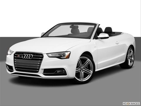 2014 Audi S5 2-door Premium Plus  Convertible Front angle medium view photo