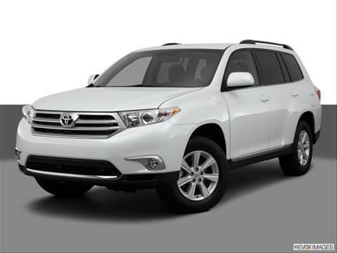 2013 Toyota Highlander 4-door   Sport Utility Front angle medium view photo