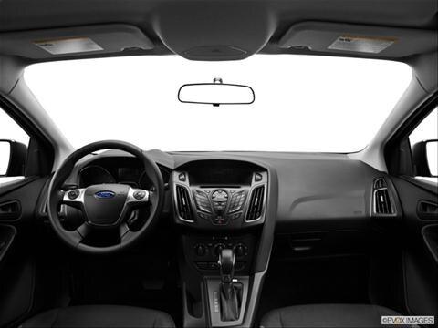 2013 Ford Focus 4-door S  Sedan Dashboard, center console, gear shifter view photo
