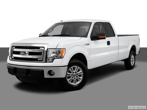 2013 Ford F150 Super Cab 4-door FX4  Pickup Front angle medium view photo