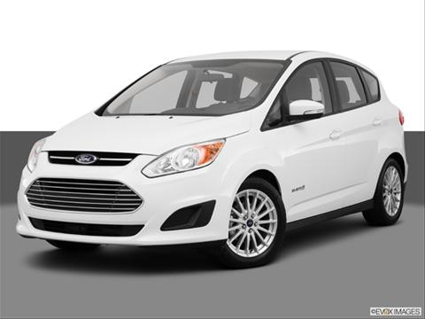 2013 Ford C-MAX Hybrid 4-door SE  Wagon Front angle medium view photo