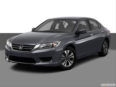 2013 Honda Accord 4-door LX  Sedan Front angle medium view photo