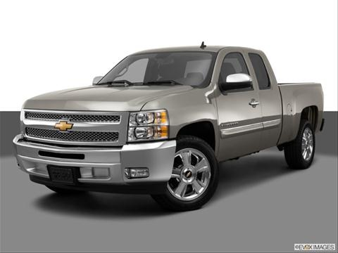 2013 Chevrolet Silverado 1500 Extended Cab 4-door LT  Pickup Front angle medium view photo
