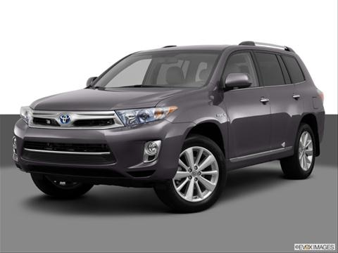 2013 Toyota Highlander 4-door Hybrid  Sport Utility Front angle medium view photo