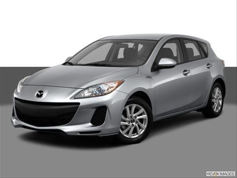 2013 Mazda MAZDA3 4-door i Touring  Hatchback Front angle medium view photo