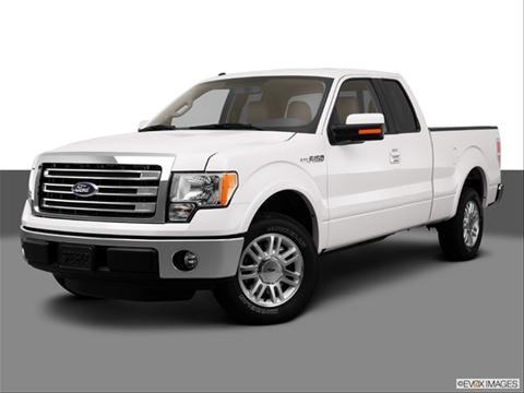 2013 Ford F150 Super Cab 4-door Lariat  Pickup Front angle medium view photo