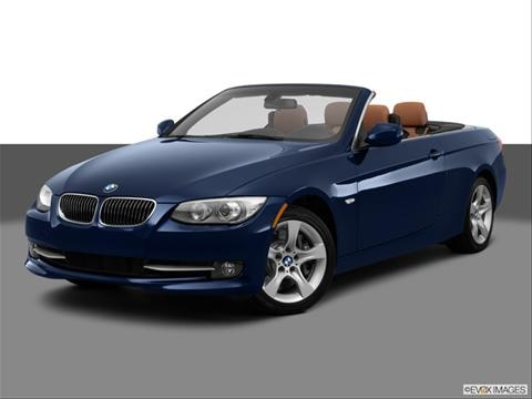 2013 BMW 3 Series 2-door 335i  Convertible Front angle medium view photo
