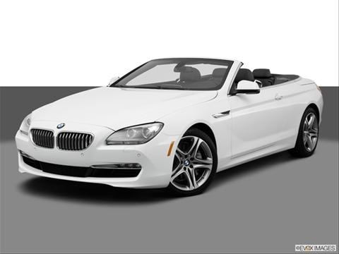 2014 BMW 6 Series 2-door 650i Frozen Brilliant White Edition xDrive  Convertible Front angle medium view photo