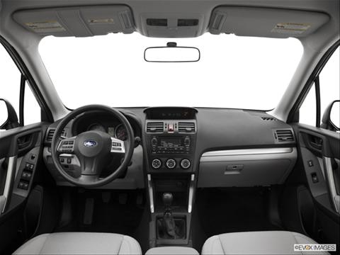 2014 Subaru Forester 4-door 2.5i  Sport Utility Dashboard, center console, gear shifter view photo