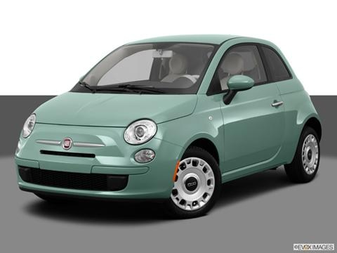2013 FIAT 500 2-door Pop  Hatchback Front angle medium view photo