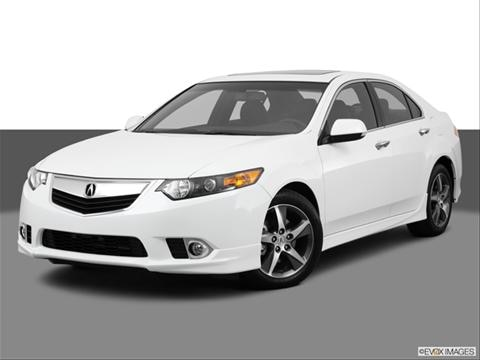 2014 Acura TSX 4-door   Sedan Front angle medium view photo