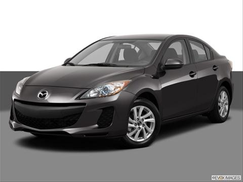 2013 Mazda MAZDA3 4-door i SV  Sedan Front angle medium view photo